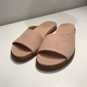 New! 1. State blush leather sandals